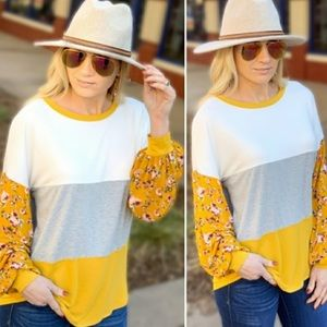 NWT Hello Sunshine Tunic Top | Size Medium
